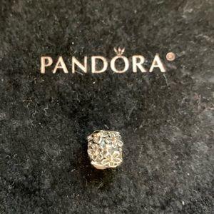 """Pandora Jewelry - VERY RARE Pandora """"Dew Drop"""" Moonstone Black Onyx"""